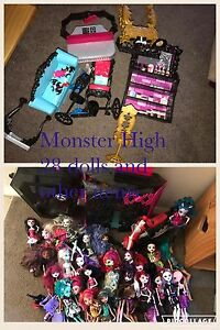 Monster High dolls Cessnock Cessnock Area Preview