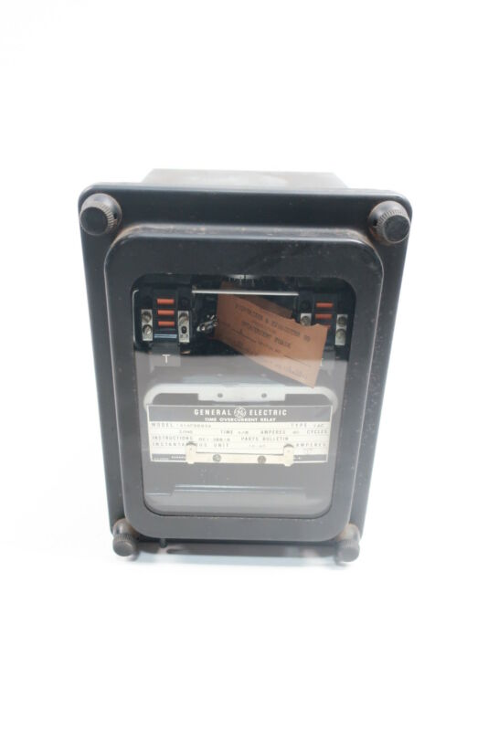 General Electric Ge 12IAC66B2A Time Overcurrent Relay