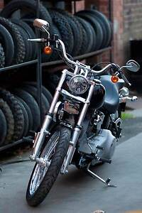 2010 Harley Davidson Softail was signed by Willie G - Prize Rowville Knox Area Preview