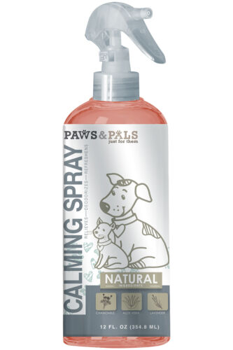 Natural Calming Spray for Pet Cologne Dogs and Cats Anxiety Stress Reliever