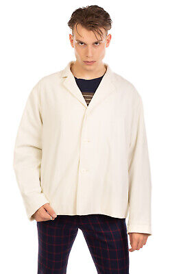 RRP €685 SUNNEI Jacket Size M Fully Lined Textured Elbow Patches Made in Italy