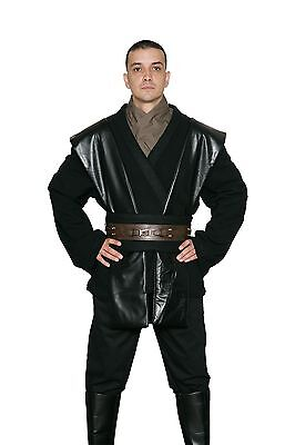 Star Wars Anakin Skywalker Costume Black Jedi / Sith Tunic and Pants from USA