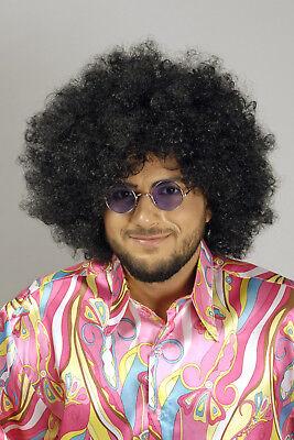 Damen Herren Perücke JIMMI Afro Look 60er 70er Jahre Hippie Hippi Retro Mähne