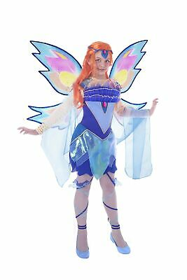 Ciao 11180 – Bloom Bloomix Costume Winx Club 7-9 anni Bloom (Blu, Azzurro) - Winx Costume Bloom