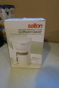 Salton One Cup Coffeemaker