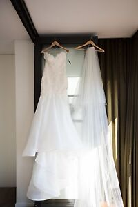 Norma Bridal Couture Size 8 Wedding Dress Ryde Ryde Area Preview
