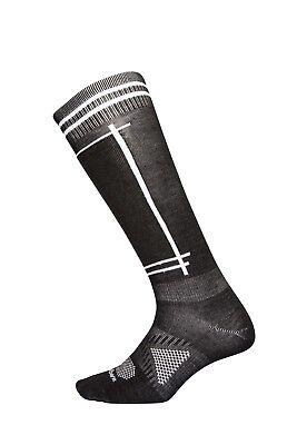 NEW Le Bent Definitive Ultra Light Merino Bamboo Mens Large Ski Socks Msrp$26