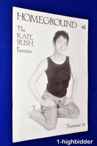 Kate Bush Homeground #42 Summer 1991 Rare UK Fanzine OOP