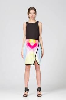 KEEPSAKE The Label Real Talk Skirt Watercolour Print size XS new Mawson Lakes Salisbury Area Preview