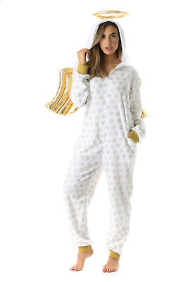 6451-L #FollowMe Adult Onesie / Womens Pajamas