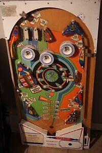 Outerspace Pinball Playfield - good for coffee table or wall art