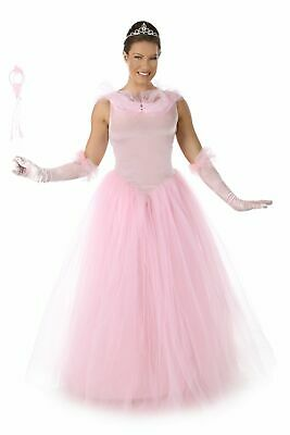 Princess Auria Pink Long Gown Fairy Tale Adult Women's Costume Cosplay SM-LG (Adult Pink Fairy Costume)