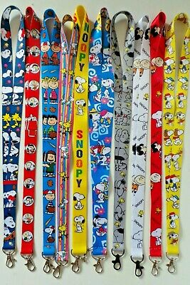 SNOOPY Schlüsselband (AUSWAHL) woodstock charly brown linus peanuts