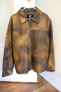 New Authentic Sheep Leather Jacket (XL)