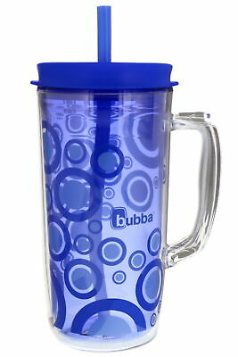bubba 48 oz double walled insulated envy mug w/straw, Serenity Bubble Graphic