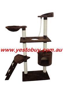 145cmCat Tree, Scratch Post, Scratching Pole,Scratcher Furniture