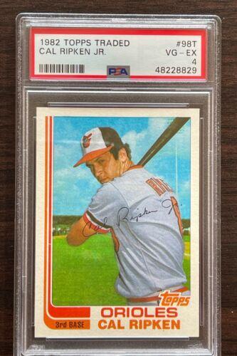 Vintage Lot of 6 Cal Ripken Jr Baseball Cards