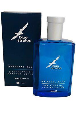 Blue Stratos Pre Eléctrico Afeitado Loción 100ml