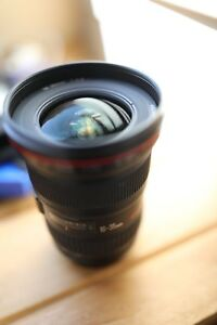 Canon 16-35mm 2.8 II Lens used