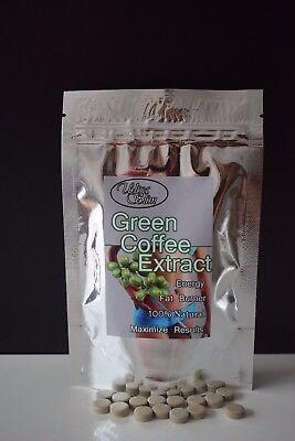 Grüne Kaffee Bohnen Extrakt, 2000mg Tabletten, Fett
