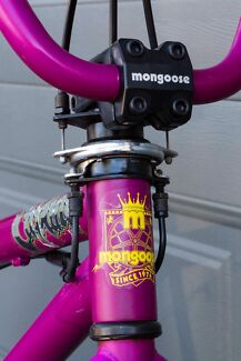"""Mongoose Capture 20"""" Freestyle BMX Bike - Berry Colour Manly West Brisbane South East Preview"""