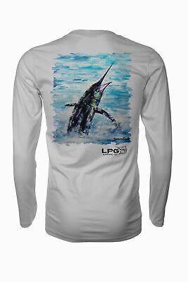 LPG Apparel Co. Pacific Fly Rash Guard LS Performance UPF 50+ Unisex T-Shirt