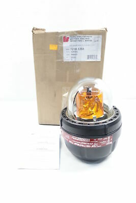 Federal Signal 121x Amber Strobe Light Series D 45w 120v-ac
