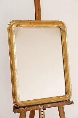 specchiera specchio parete Luigi Filippo XIX secolo 1830-40 cornice legno dorato