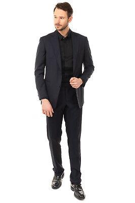 RRP€545 PAL ZILERI Wool Single Breasted Suit Mismatch Size Jacket 50 Trousers 52