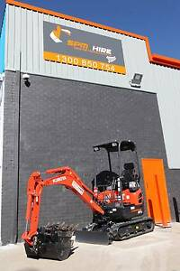 EXCAVATOR HIRE  1.7 TON Campbelltown Campbelltown Area Preview