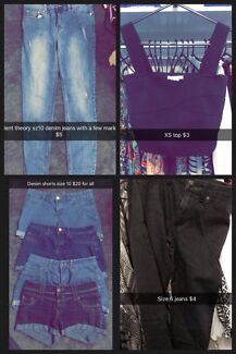 Massive wardrobe clear out sizes 6-12