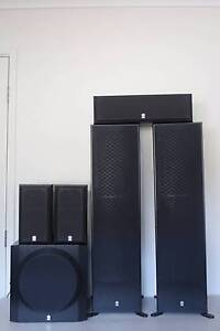YAMAHA NS50F 5.1 HOME THEATER SPEAKER SYSTEM Chadstone Monash Area Preview