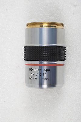 Mitutoyo Microscope Lens Bd Plan Apo 5x 0.14 0 F200