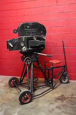 Mole-Richardson Movie Camera Gear Head,1930 Dolly, Blimp