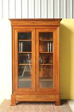 French Antique Armoire, Display cabinet, bookcase. Milton Brisbane North West Preview