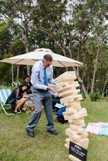 Giant Jenga for Hire – Wedding Picnic Party Event Games!