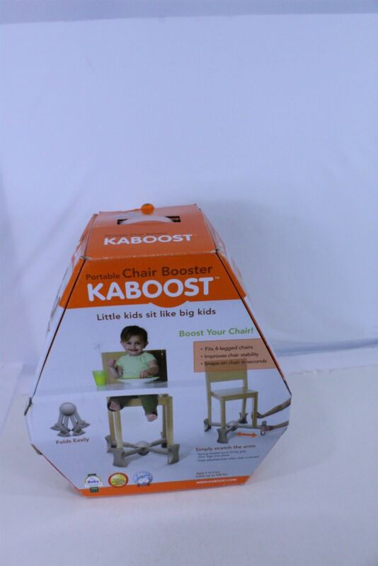 Kaboost Booster Seat for Dining, Natural Goes Under The Chair