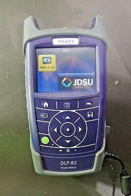 Jdsu Viavi Fiber Optical Power Meter Olp-82 Cat No. 22062967
