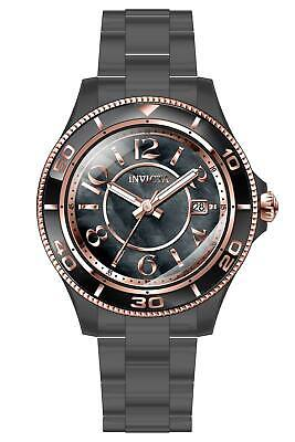 Invicta Anatomic Quartz Black Dial Ladies Watch 30364