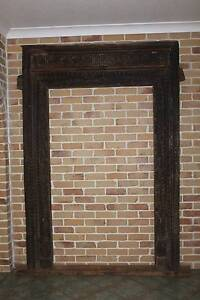 ANTIQUE INDIAN 2 DOOR FRAMES (price each negotiable for the pair) Newstead Brisbane North East Preview