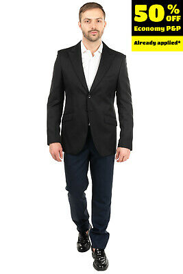 RRP€710 CARLO PIGNATELLI CLASSICO Blazer Jacket Size 52 XL Wool Blend Peak Lapel