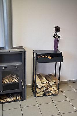 Kaminholzregal Kaminofen Holzregal Ofenregal Brennholzregal STAB - Ofen Ofen Regal