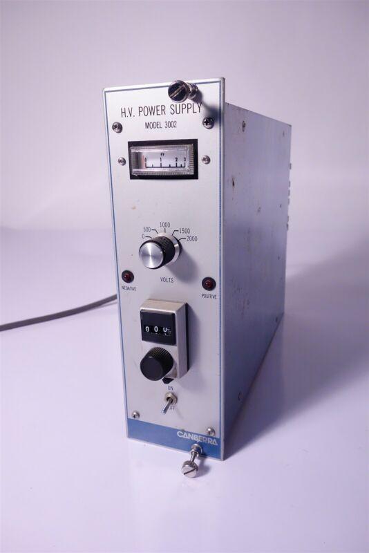 Canberra 3002 HV High Voltage NIM BIN Power Supply TESTED Working 30Day Warranty