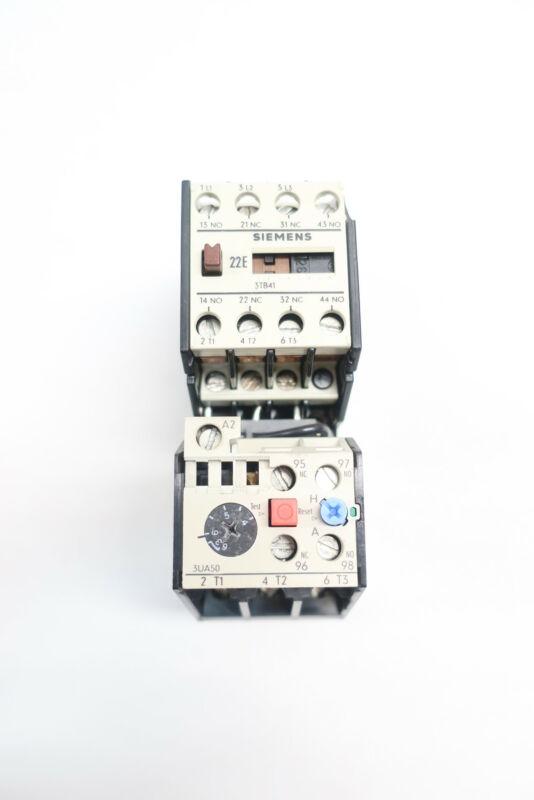 Siemens 3TB4117-0A 3UA50 00-1G Full Voltage Starter 220v-ac 5hp