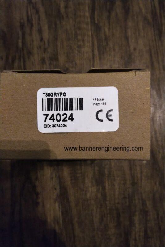 Banner Indicator Light T30GRYPQ 74024