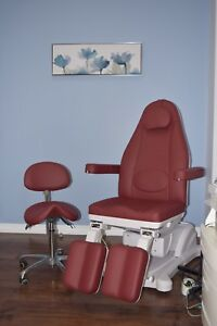 Brand New Podiatry Chair (Full Adjustable) with Chair