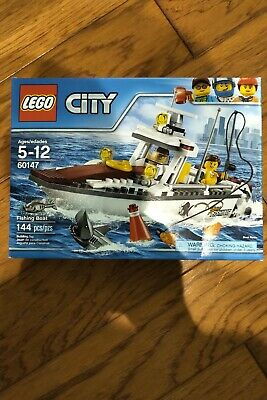 LEGO City Fishing Boat 2016 (60147). Brand New/Sealed. Free Shipping.