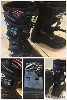 Motor Bike Boots - Youth
