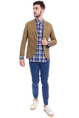 RRP €335 EAST HARBOUR SURPLUS Gabardine Blazer Jacket Size 46 / S Made in Italy