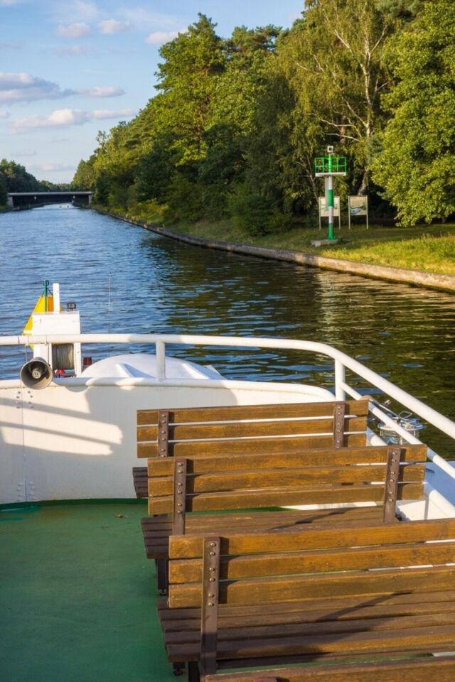 Charterfahrt-private Rundfahrten mit Motorschiff Vagabund, Berlin in Brandenburg - Schöneiche bei Berlin